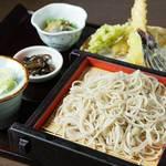 小布施 喜の呼庵 - 料理写真:天ぷらもり1,480円