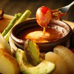 炭火美食ダイニング 恵 Megu - 料理写真:炭火野菜の和風バーニャカウダ