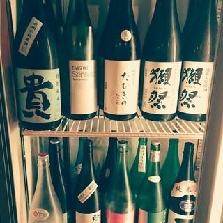日本酒プレミアム飲み放題60分1250円!!