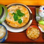 わたべ亭 - 煮かつ定食