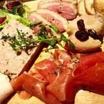 ウィッフィ - 肉前菜盛り合わせ