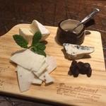 ウィッフィ - チーズの盛り合わせ