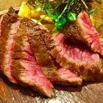 ウィッフィ - 尾崎牛ザブトンのステーキ