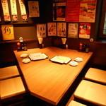 ホルモン焼道場 蔵 - 1名様~6名様まで可能なテーブル席
