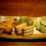 nihonryourisugawara - 本日の前菜盛り合わせ