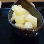 たつみ寿司 - ガリ