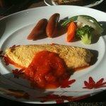 5010888 - 朝食(チーズオムレツ)