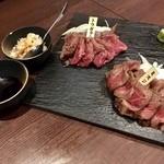ミートバル BON - 本日の和牛2種盛り!