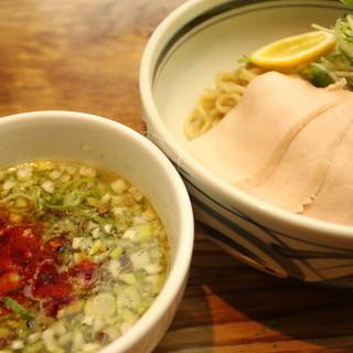 【期間限定】柚子と淡路鶏の塩つけ麺※18時から販売※