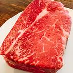 AMUSER - 肉の塊!テンション上がります!