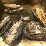 ヒロキ家 - カンカン焼きの牡蠣