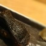 鮨処 竜敏 - 黒ハモ 皮