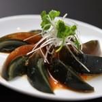 中国料理 ロータスダイニング - アヒルの卵、珍味です。
