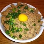 鶏ポタ ラーメン THANK - ⌒(ё)⌒ そぼろ丼❤