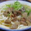 立ち食いうどん 味沢 - 料理写真:ぼっかけうどん