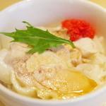 香港麺専家 天記 - 小さな蒸し鶏丼