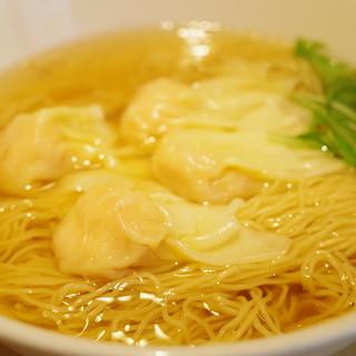 香港麺専家 天記 - 料理写真:えびワンタン麺