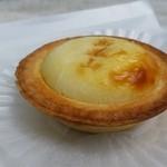 高尾山天狗屋 - タルトはさくっとしていて美味しい「高尾山チーズタルト (250円)」