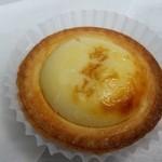 高尾山天狗屋 - 「高尾山チーズタルト (250円)」、さっぱり爽やかで美味しい~♪