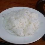 フクノヤ - 定食のライスです