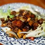 50114202 - 2016.4 鶏肉とカシューナッツ炒め(チャイヤイコース)