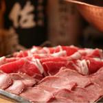 串揚げ 串坊主 - イベリコ豚のしゃぶしゃぶ