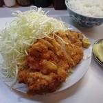 季節料理 西田 - ロースカツ定食 750円(味噌汁も付きます)