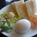 モルゲン - サンドイッチモーニング 350円