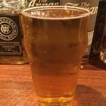 スコティッシュ パブ ブリッジェンド - 沖縄のオリオンビール 当店では樽生で提供しています。ソーキなどの沖縄フードとともに是非。