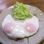 とんかつ 天寿々 - ハムエッグ¥400