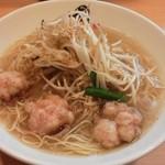 らぁ麺 國 - ホルモンラーメン 旨塩