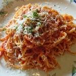 50126868 - トマトソースのタリオリーニ ペコリーノチーズ
