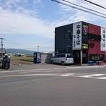 中華そば土屋商店 - 超テネレ号と外観