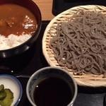 高田屋 - 「カレー丼とごまそばのセット」