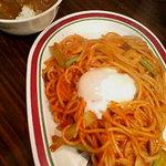 ビバ!スパゲティ  富士山 - ナポリタン+ミニカレー