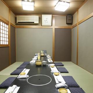ビジネスシーンに大活躍の立地と【個室】。接待やご会食に。