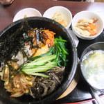 50130754 - 石焼ビビンバ定食(780円)
