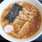 若竹 - 料理写真:手打風ラーメン