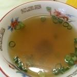 金龍別館 - セットスープ