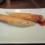 青菜 - 海鮮春巻
