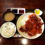 涼風 - 料理写真:チキンカツ定食