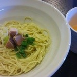 中華そば先崎 - 替玉と卵