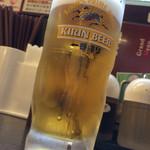 日高屋 - 生ビール
