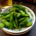 日高屋 - 枝豆