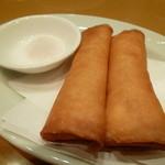 50137366 - 上海蟹のクリーム餡揚げ春巻き