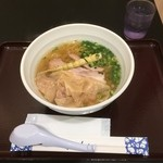 麺 てっぺん - 料理写真:函館イカワンタン塩らーめん830円