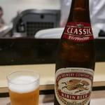 鯛壽司 - 瓶ビール