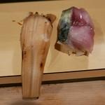 鯛壽司 - 穴子/鯖