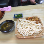 手打ち泰平うどん - ざるうどん、天ぷらまで、いただきました