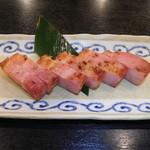 九州料理 居酒屋 永山本店 - 厚切りベーコン炙り焼き